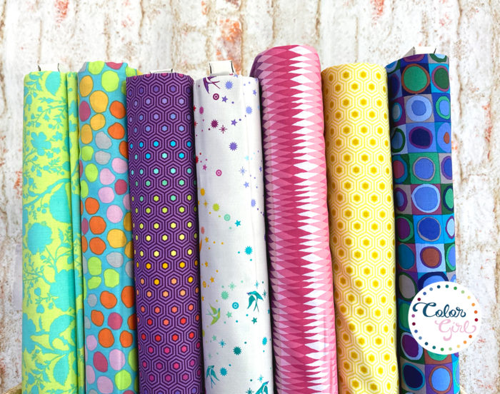 free spirit fabrics sold by color girl quilts