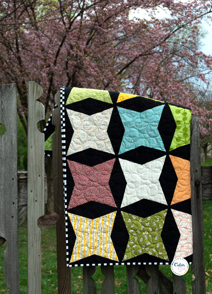 How to use Kitty Cornered ruler, video quilt tutorial by Color girl Quilts