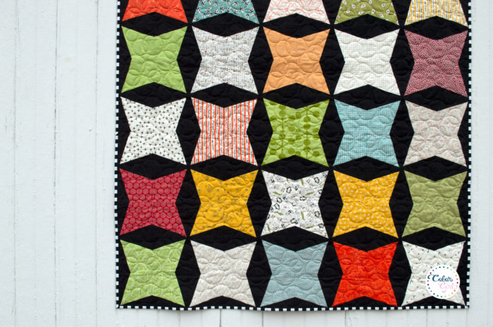 Kitty Corner quilt by Color Girl Quilts