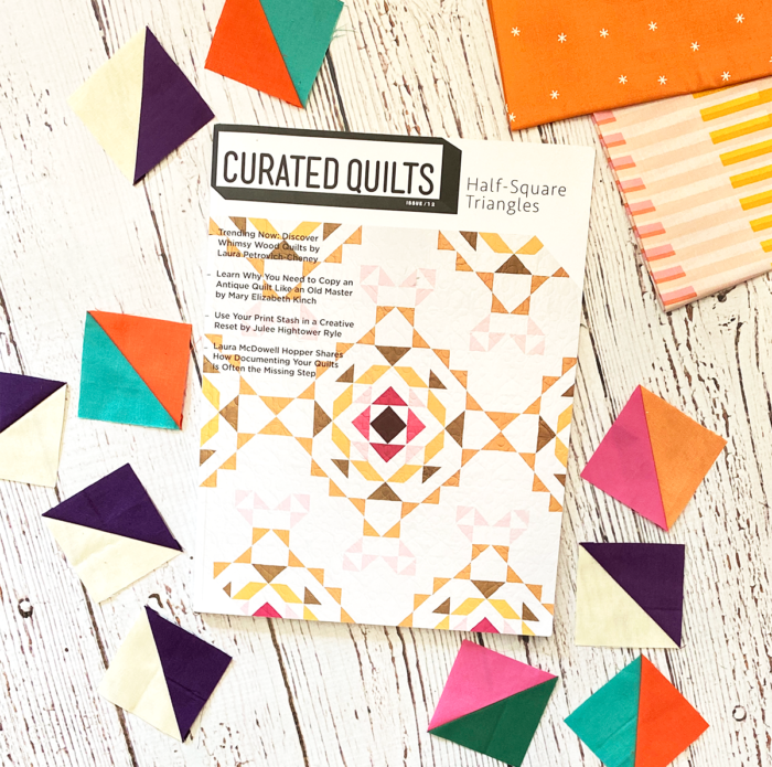 Curated quilts triangle issue.