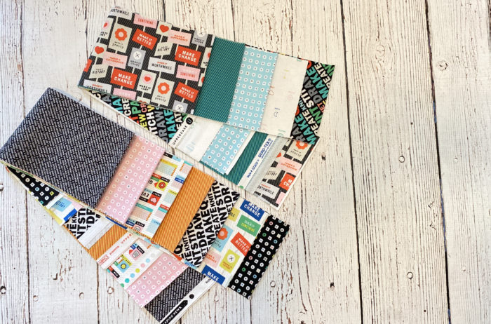 Breaking News fabric giveaway by color girl quilts. September sewing month